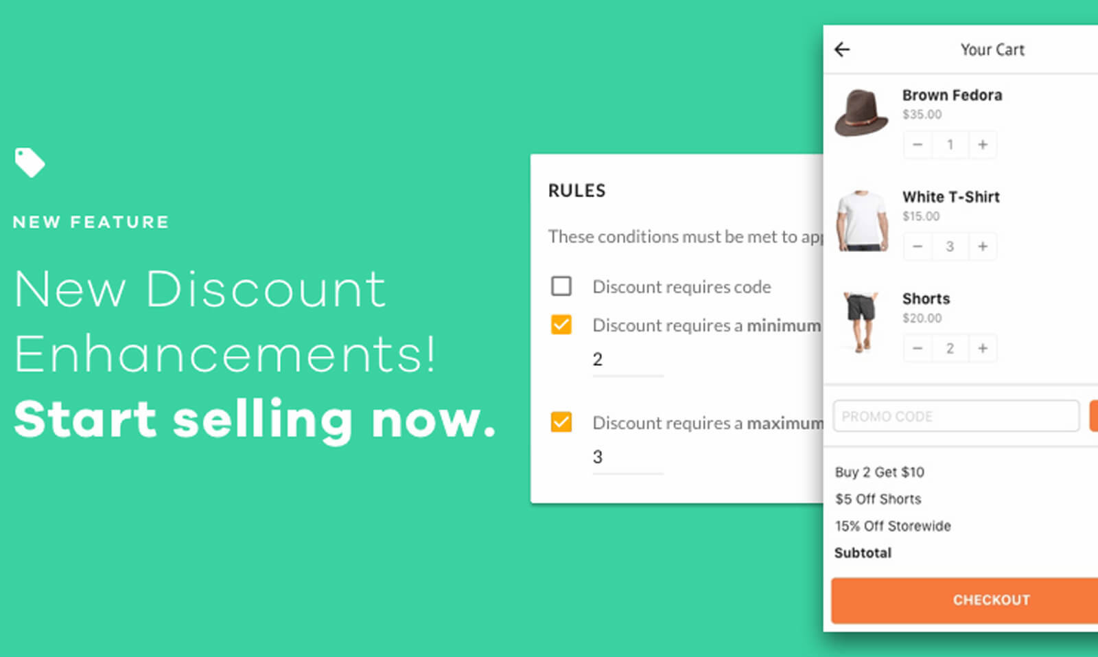 New V2 Features: Discounts Enhancements, AVS Check, Flagged Orders, Bulk Order Processing