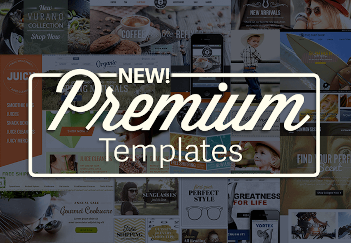 13 Brand Spanking New Premium Templates for Spring