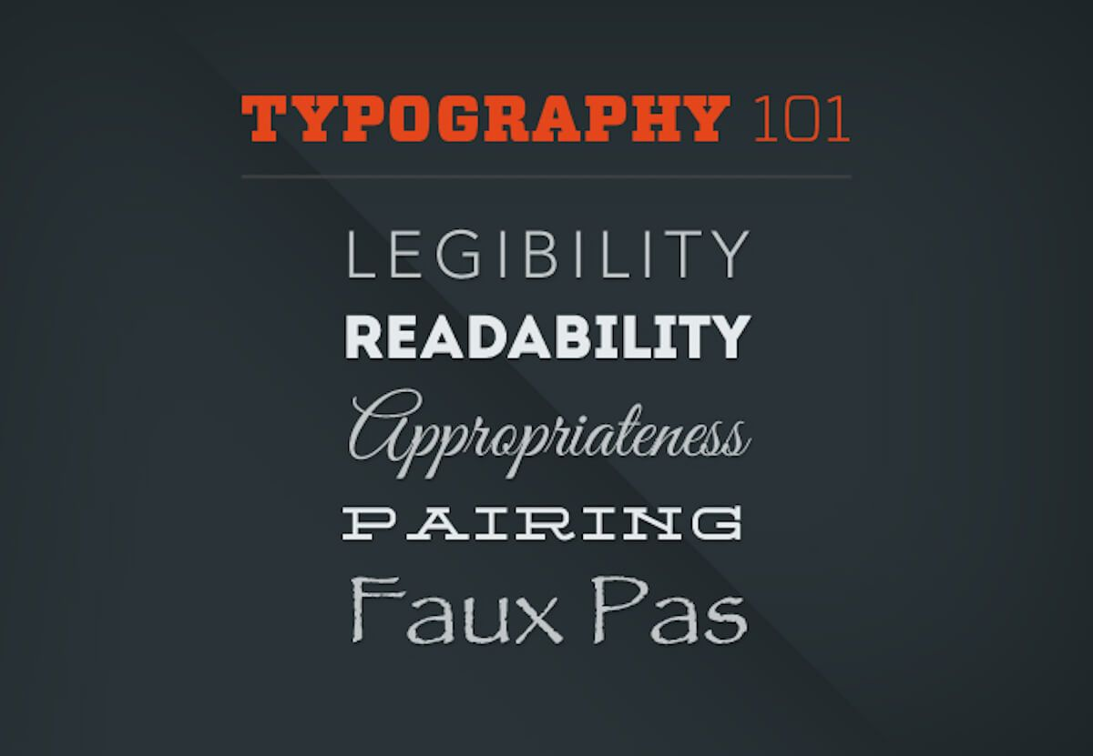 Typography 101: How to Choose the Right Fonts for Your Website
