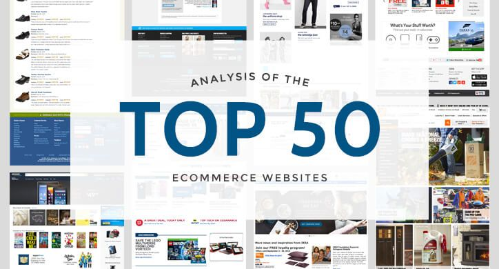 Analysis of the Top 50 Ecommerce Sites