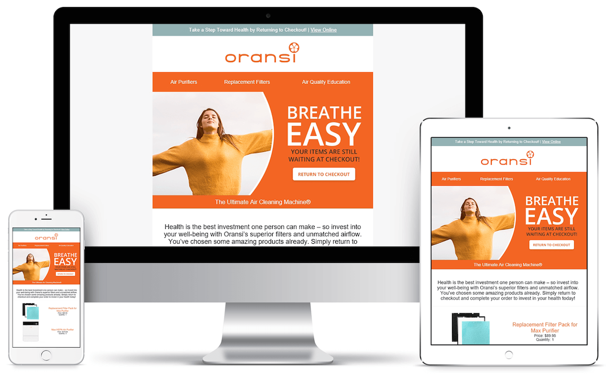 Oransi Generates $624,000 in Under Three Months with Email