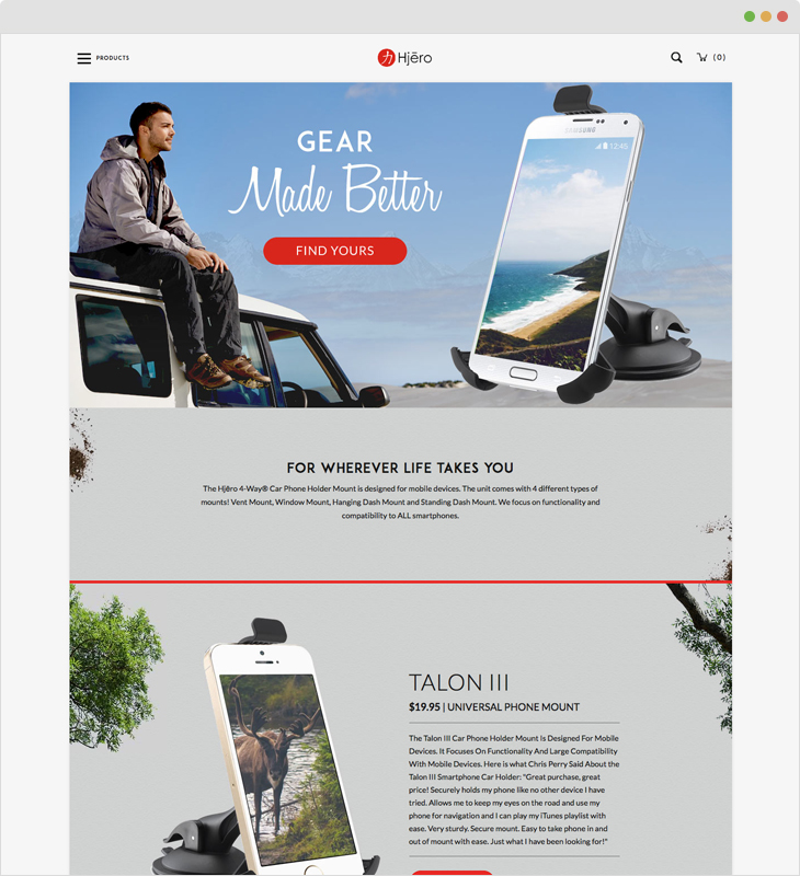 30 Beautiful & Inspiring Ecommerce Websites [By Industry]