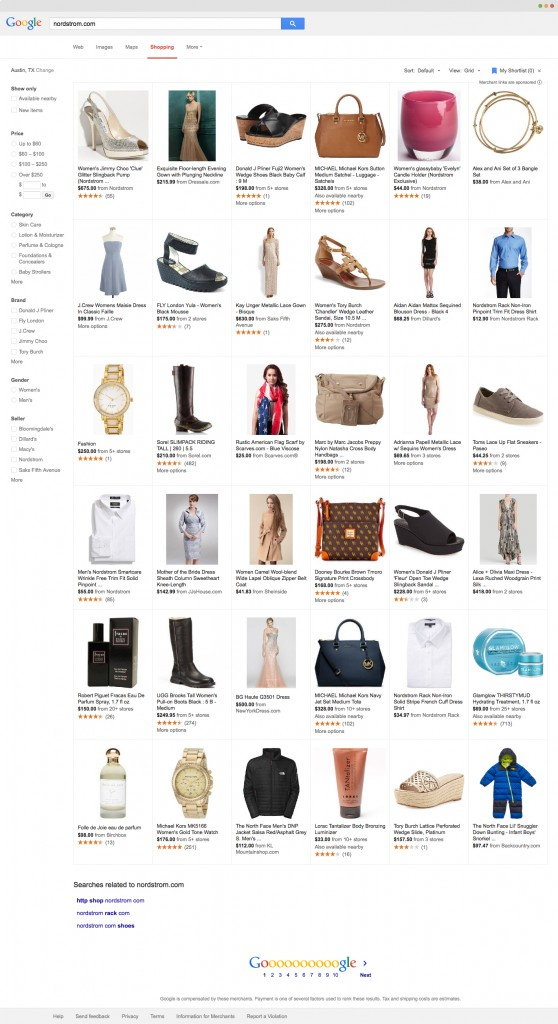 How to sell clothes online using shopping feeds