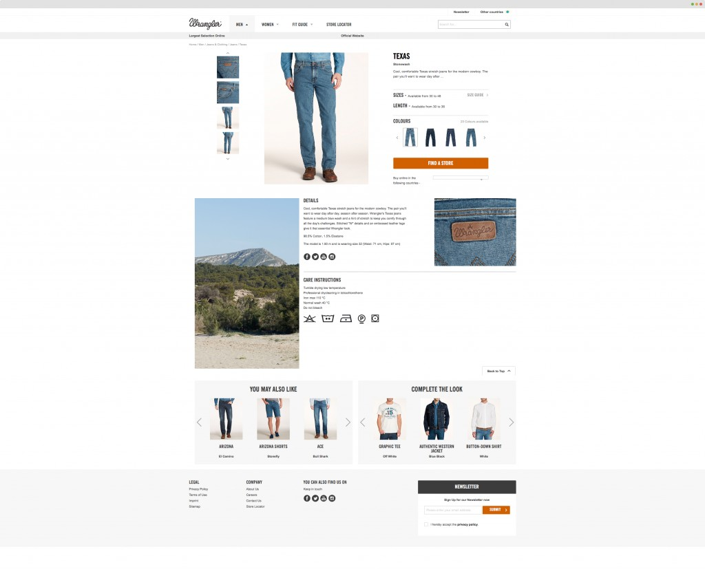 conversion rate optimization for online clothing stores
