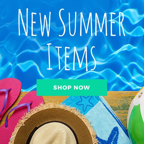 New Summer Items graphic