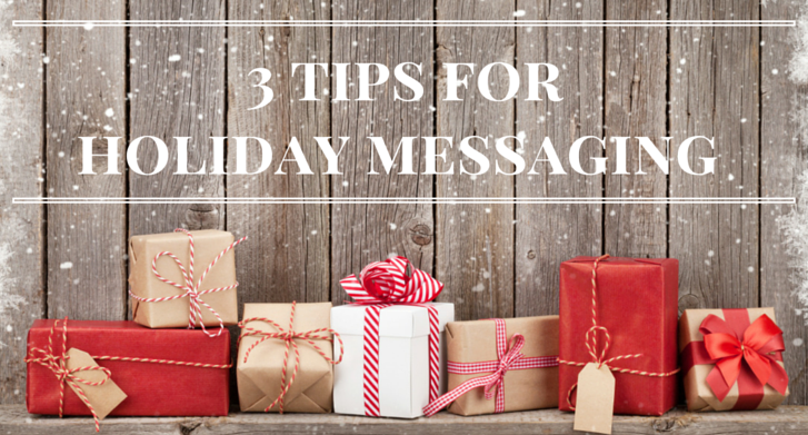 Holiday Messaging Tips blog image