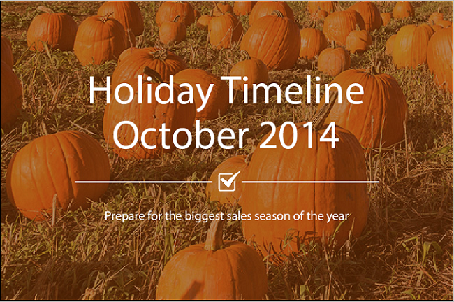 Oct Holiday Timeline