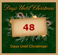Christmas Countdown Widget.3 Free Christmas Countdown Clocks For Your Online Store