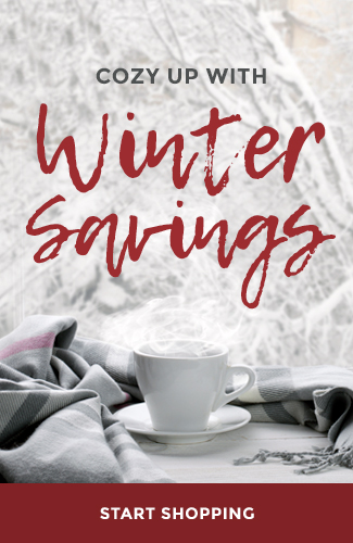 Winter savings graphic