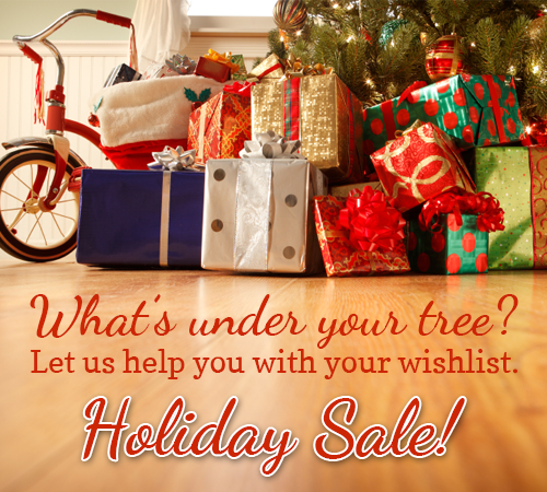 Free Holiday Sale Image