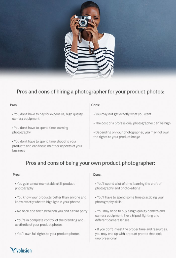 Pro/Con list for hiring a photographer and taking your own pictures