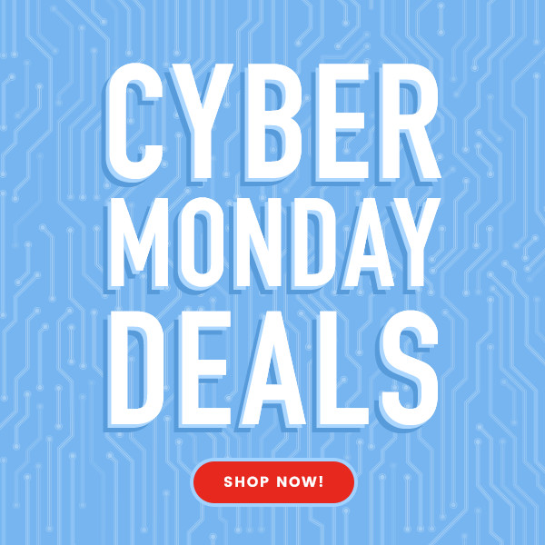 Cyber Monday Deals graphic