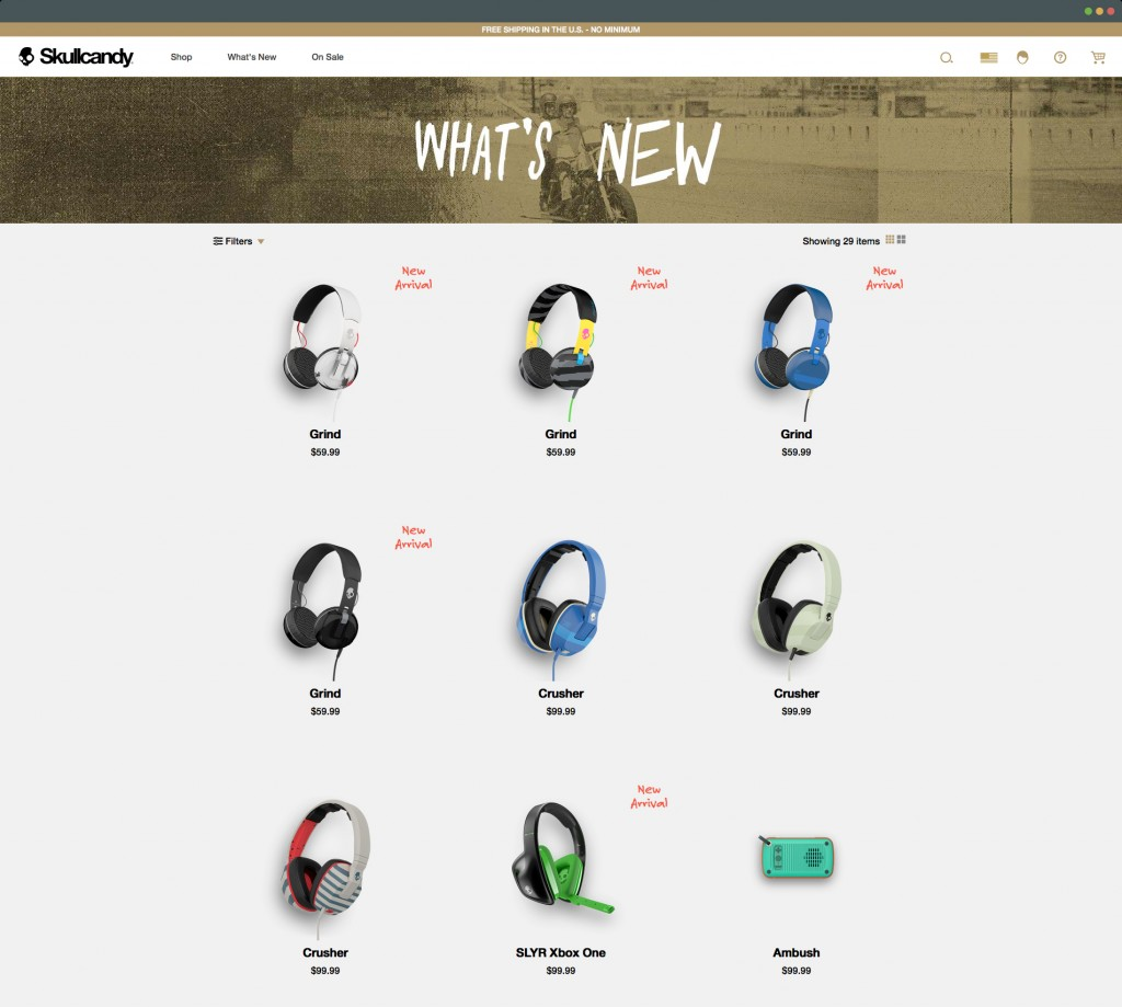 Skullcandy product photos